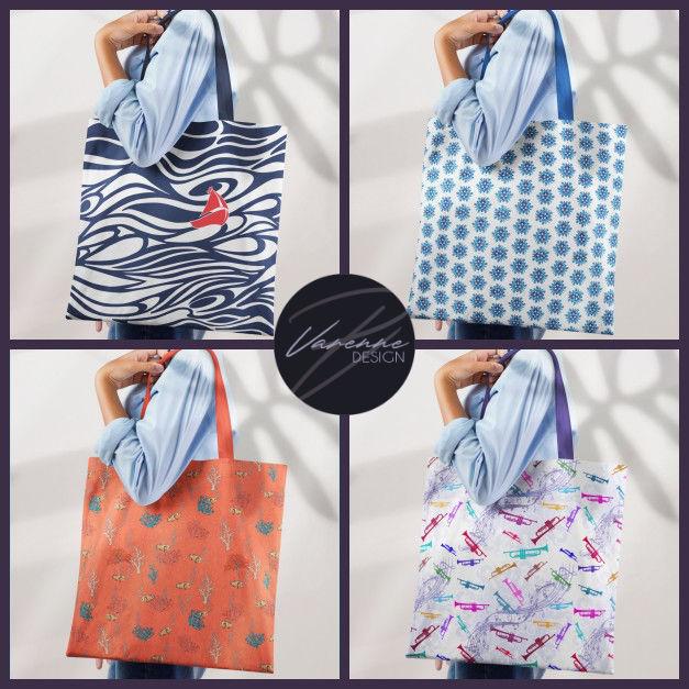 Motifs Collection - Tote Bags Varenne Design