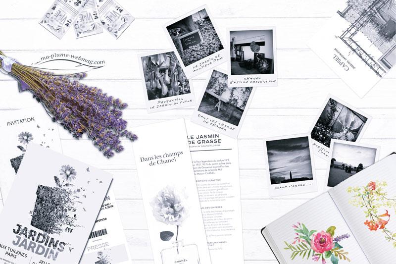 Jardins, jardin, couverture éditoriale et photographique