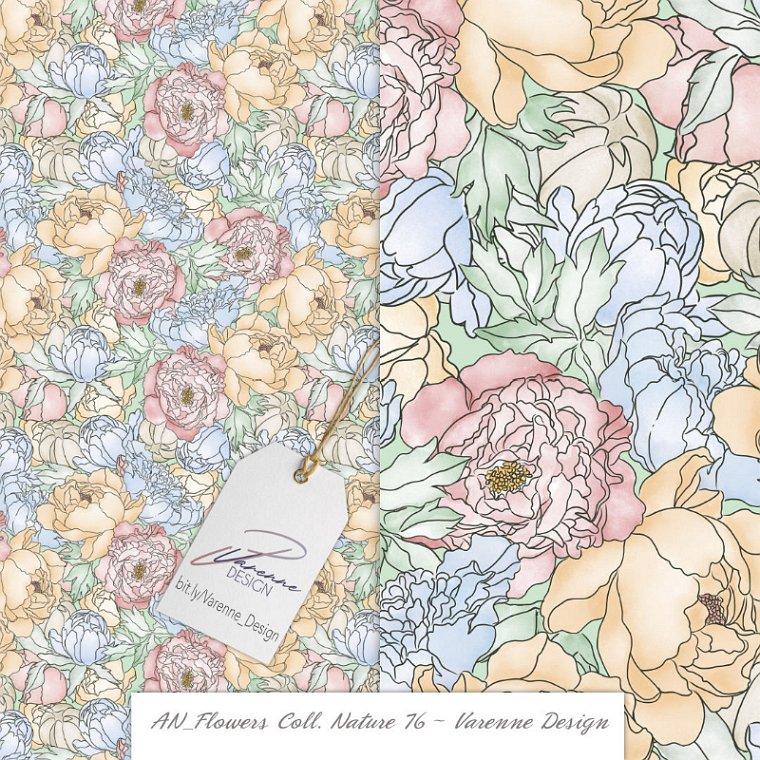 Seamless Pattern by Varenne Design