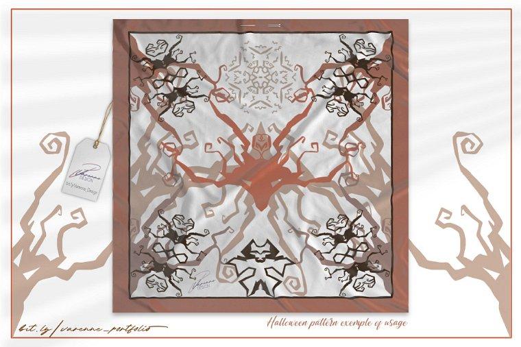 Halloween, seamless pattern Varenne Design